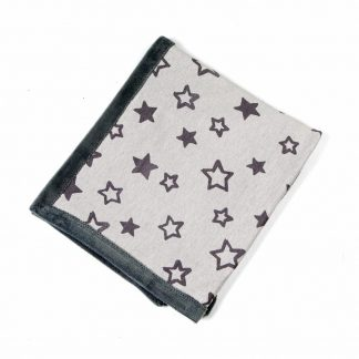 baby-fleece-blanket-star motif