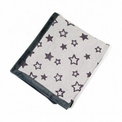 baby-fleece-blanket-star motif