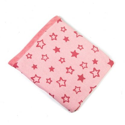 baby-fleece-blanket-pink-stars