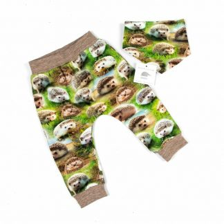green-pants-digital-print-hedgehogs