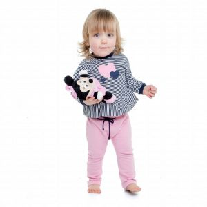 baby-meisje-wit-blauw-gestreept-opdruk-hartjes