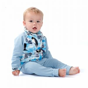 Tailor made kids fashion, penguin outfit