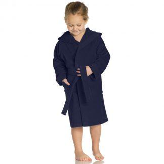 meisje-jongen-kleurrijkbadjas-kap-winternight kleuren