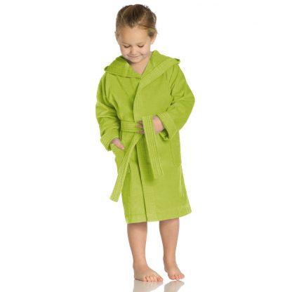 kleurrijke-kinderbadjas-kap-meadow-green-kleuren
