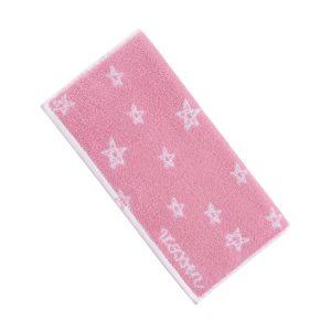 baby-handdoek-roze-sterren-motief