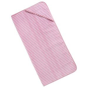 baby-handdoek-kap-roze-streepjes-motief