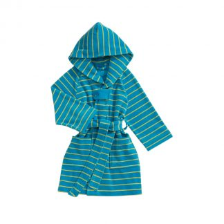 trendy-children's-bathrobe-hood-turquoise-colors