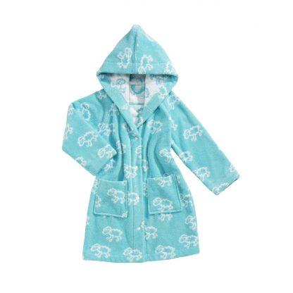 baby-badjas-turquoise-schaapjes-motief