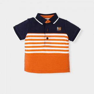 boy-polo-orange-thunderblue-white