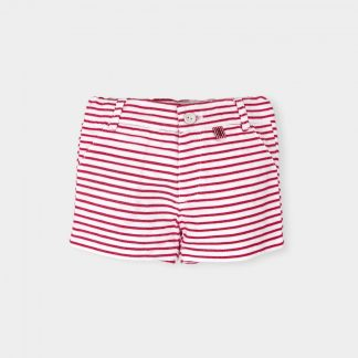 short-pleated-red-white-striped