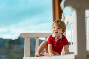 baby-jongen-polo-rood-short-plissè-rood-gestreept
