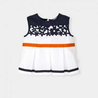 baby-girl-blouse-navy-ribbon-orange
