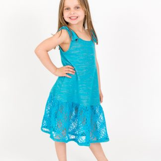dress-turquoise-lace-board