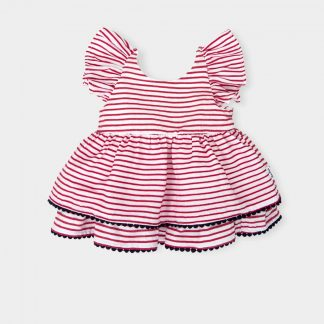 baby-girl-dress-pleated-red-white-striped