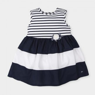 dress-navy-blue-white-without-sleeves