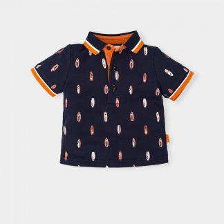 jongen-polo-donkerblauw-motiefjes-wit-oranje