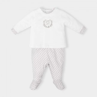 2-piece-white-pajama-gray-motif