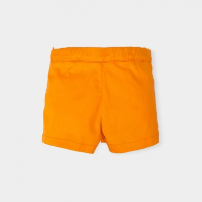 baby-meisjes-short-orange-sierknopen