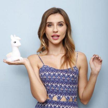 nachtlampje-llama-unicorn-white